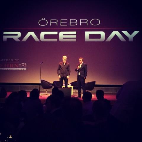 Marcus Ericsson Örebro Race Day